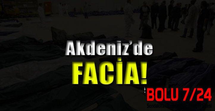 AKDENİZ'de Can Pazarı: 950 Kişi Öldü