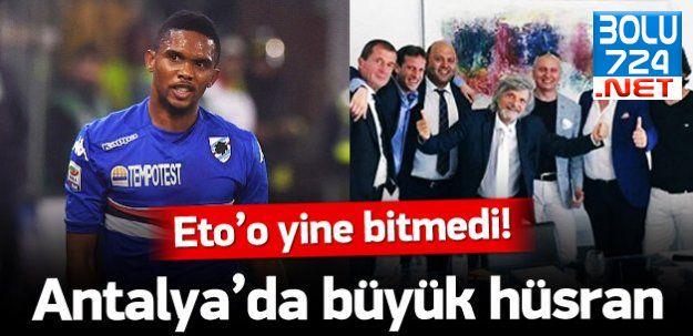 Antalyaspor'da Eto'o Hüsranı! ETO'O BİTMEMİŞ!