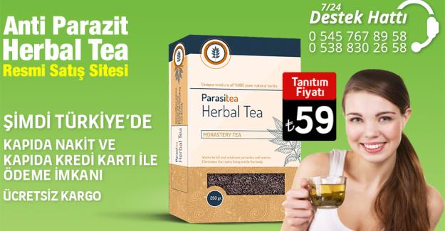 Anti Parasite Herbal Tea (Parazit Karşıtı Bitki Karışımı Çay)