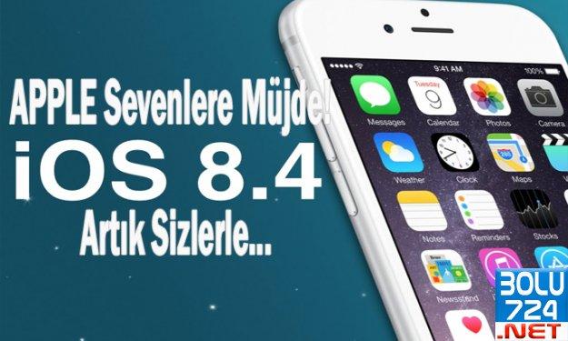 Apple Severlere Müjde iOS 8.4 Artık Sizlerle!