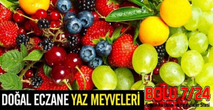 Bahar Meyvelerini Tüketerek Daha Enerjik Olmanız Mümkün.