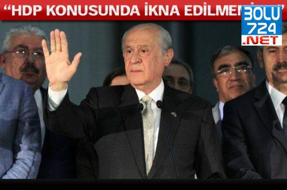Bahçeli, HDP Koalisyonu Hakkında Kararını Verdi!İkna Edilmemiz..!