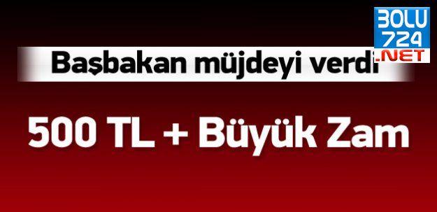 Başbakan Ahmet Davutoğlu'ndan İşçilere Büyük Müjde!