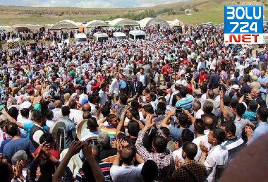Beşiri İlçesi 50 Bin Kişi ile Şeyh Halid'i Andı!