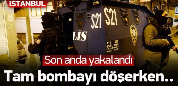 Beykoz'da Tencere İçinde Yola Bomba Döşemeye Çalışan Terörist Yakalandı!