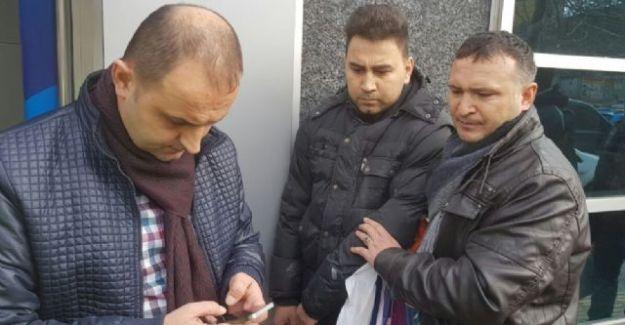 Bolu'da Kapkaççıyı Yakalamak İçin Üzerine Atladılar