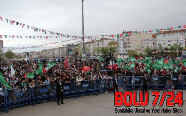 BURSA- On Binlerce Peygamber Sevdalısı Bursa'da Bir Araya Geldi