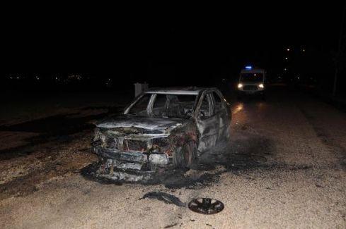 Çağırdıkları Taksi Şoförüne İşkence Yapıp Aracını Yaktılar