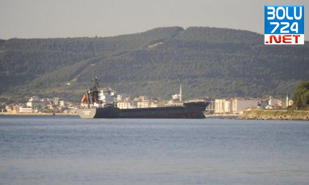 Çanakkale Boğazında Tehlike! Amonyum Sülfat Yüklü Gemi Karaya Oturdu!