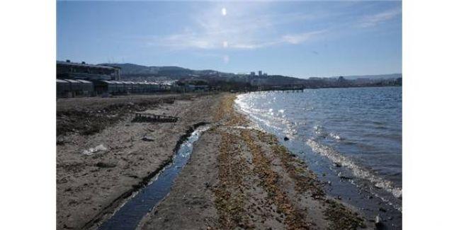 Çanakkale'de Büyük Gel Git! Deniz Suyu 4 Metre Çekildi!