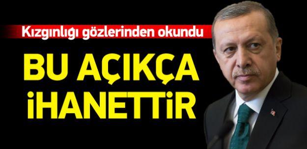 Cumhurbaşkanı Erdoğan, Demirtaş'a Sert Sözler! İHANETTİR!!