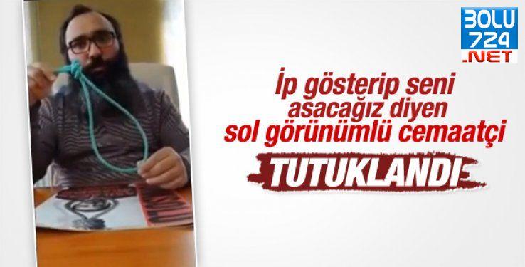 Türkiye Halkına (Cumhurbaşkanı) Hakaret ve Küfür Eden Sakallıya Ağır Ceza
