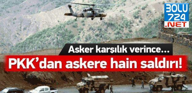 Dağlıca'da Askere Havan ve Uçaksavarlı Saldırı