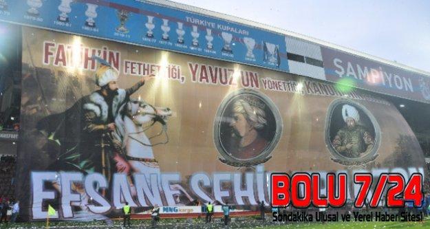 Trabzon Taraftarı PADİŞAHLARI Karıştırdı Koreogarfi Alay Konusu Oldu