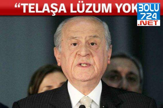 Devlet Bahçeli'den Koalisyon Beyanı! Telaş Yok, Gerekirse Erken Seçim!