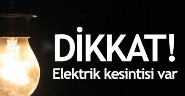UYARI: İstanbul Karanlığa Gömülüyor! Elektirikler Kesilecek! İşte O Semtler