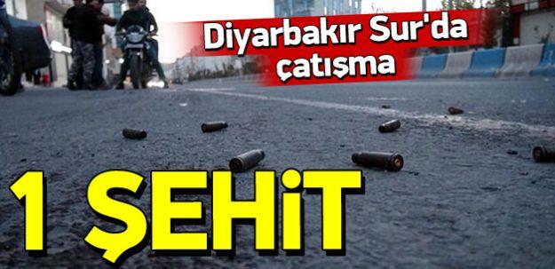 Diyarbakır'da Çatışma! 1 Şehit
