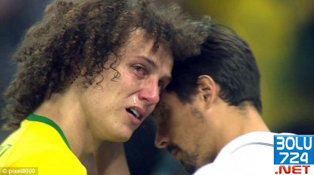 Brezilyalı David Luiz Bakirmiş! Evlenmeden Yapamam!