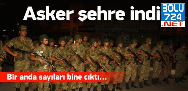 Edirne'de Şok Gelişme: Polis Yetersiz Kaldı Asker Sokağa İndi