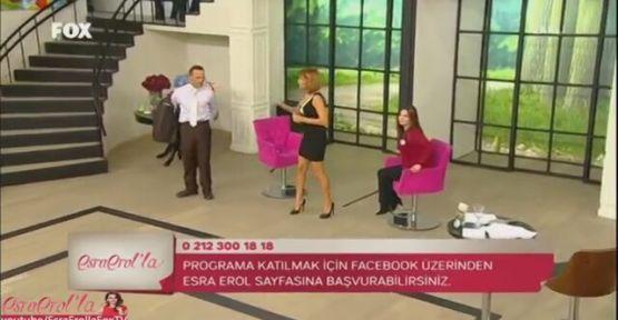 Esra Erol'da Takla Show Herkesi Şaşırttı :)