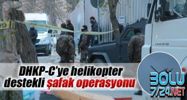 DHKP-C'ye Bu Kez İstanbul'da ŞOK Baskın Yapıldı
