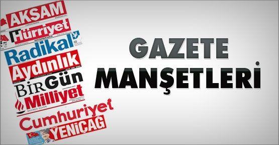 Gazete Manşetleri Oku 9 Ocak Cuma (Gazeteler, Gazete Oku, Manşetler 9.01.2015) 78789
