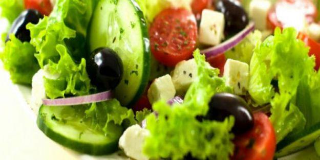 Günde 5 Porsiyon Sebze Meyve Salata Tüketin Kanseri Yenin