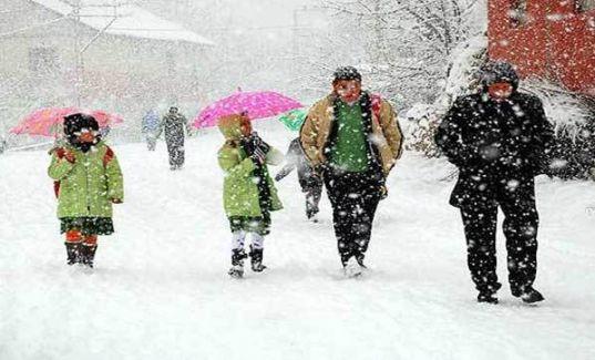 Hakkari'de Okullar Tatil mi! Hakkari'de Okullar Kar Yağışı Nedeniyle Kaç Gün Tatil Edildi!