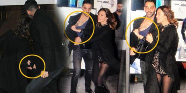 Hande Yener'in Doğum Gününde Tekme Tokat Sevgili Kavgası