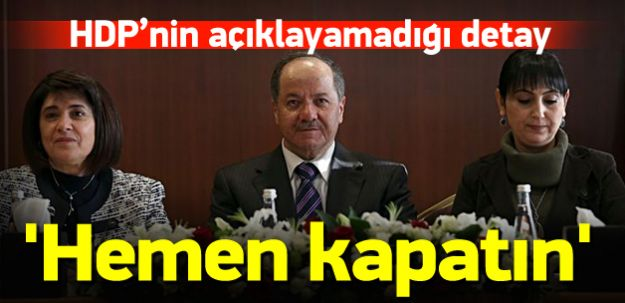 HDP İle Görüşen Barzani, Erdoğan'ı Övdü!