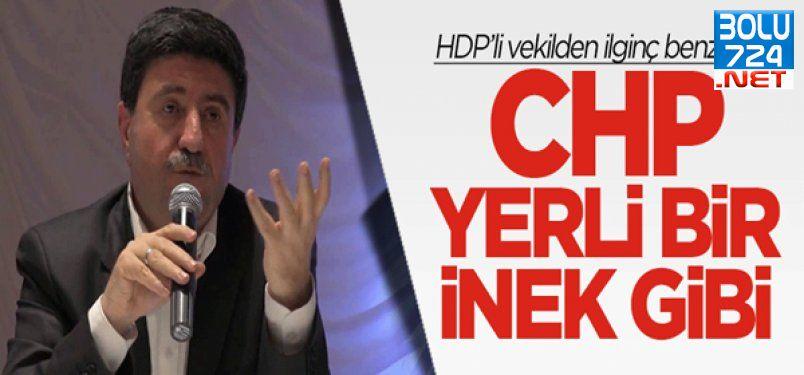 Altan Tan: CHP İnek Gibi, Saman Yedirirsin Bir İşe Yaramaz