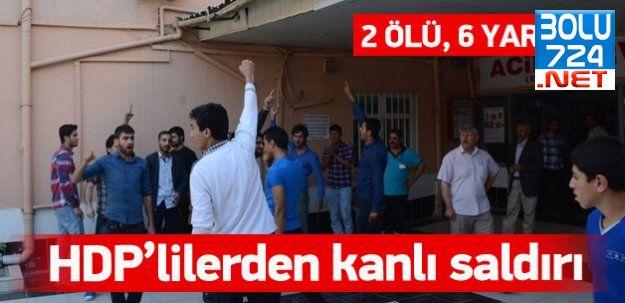 HDP Şırnak'ta 2 Hüda Par'lı Genci Öldürdü!