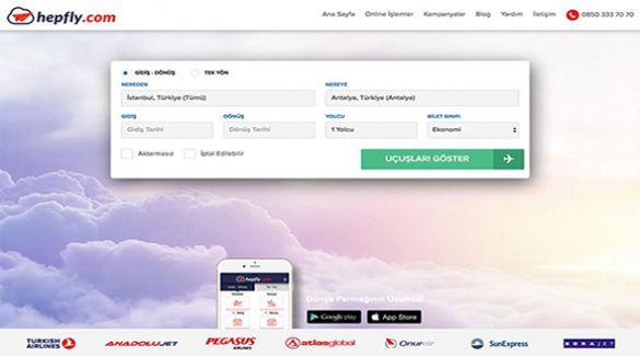 Hızlı ve Ucuz Uçak Biletinin Yeni Adresi: Hepfly.com