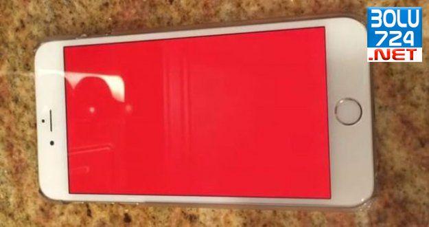 iPhone 6 Kırmızı Ekran Sorunu Nihayet Çözüldü