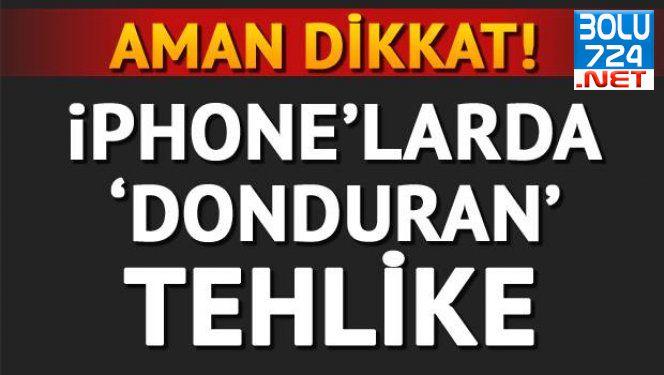 İPhone Kullanıcıları Aman Dikkat! Size Gelen Bu Mesajı Sakın Açmayın!