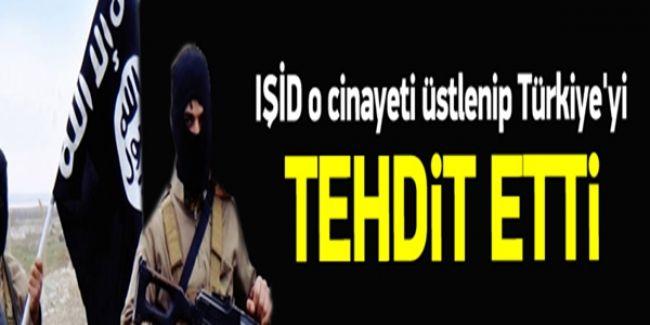 IŞİD, Türkiye'deki O Cinayeti Üstlenip Tehdit Etti!