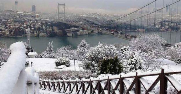 İstanbul'a Kar Ne Zaman Yağacak! Yılbaşı Gecesi Kar Yağışı mı Olacak?
