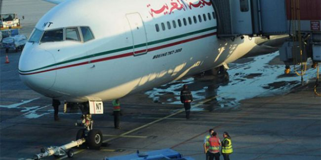 Kalkışa Hazırlanan Uçağı Su Bastı