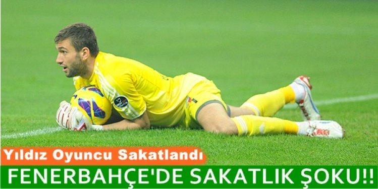 KANARYA Fenerbahçe'yi Sarsan Şok Sakatlık! Tarak Kemiği Kırıldı