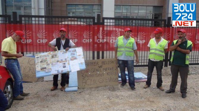 Kılıçdaroğlu Taşeron İşçiliği Kaldıracağız Diyor CHP Sarıyer Belediyesi İşçileride Grev Yapıyor!