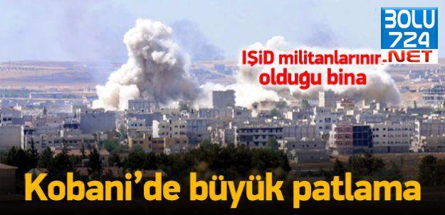 Ayn el Arap'ta Şiddetli Patlama! Türkiye'den de Duyuldu