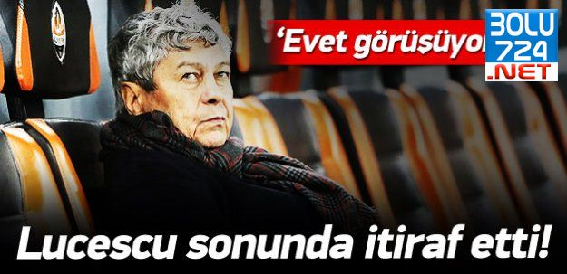 Lucescu İtiraf Etti, Beşiktaş ile Görüşüyorum!