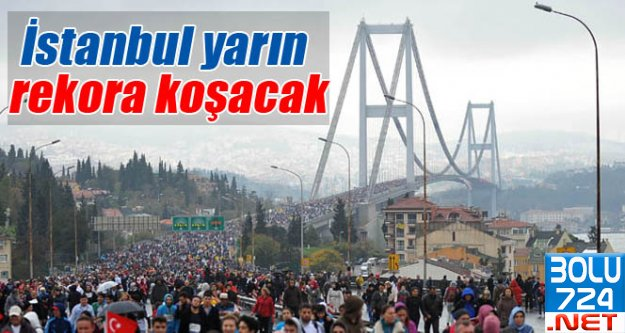 Maraton'da Rekor Başvuru! 8 Bin.!