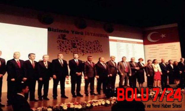 MHP İstanbul Mebus Namzetlerini Tanıttı: Bizimle Yürü İstanbul
