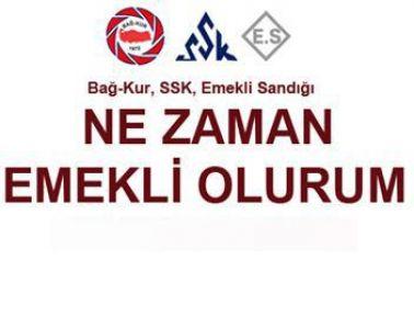 Ne Zaman Emekli Olurum 2015 / Emeklilik Hesaplama İşlemini turkiye.gov.tr (SSK, BAĞKUR)