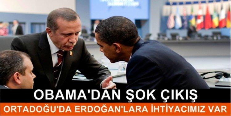 Obama'dan Şok Edici Erdoğan Çıkışı! Ortadoğu'da Daha Çok..!