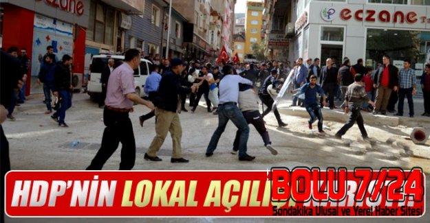 BURSA- Orhangazi'de HDP Lokal AçılışınA Saldırı Gerçekleşti