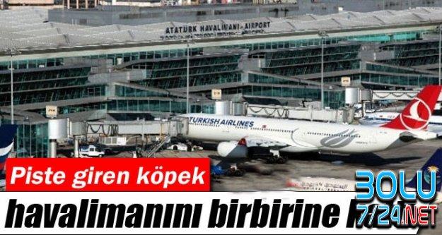 Atatürk Hava Limanı Pistinde İT Şoku!