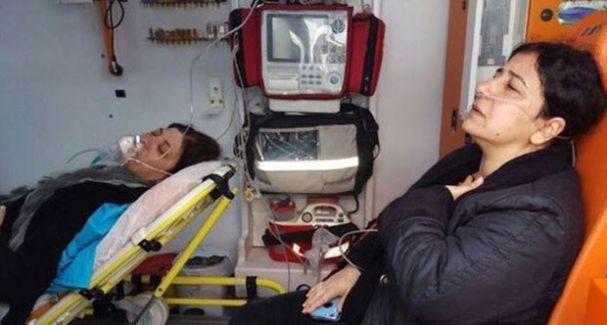 Polis HDP'li Vekillerin Provakasyonuna İzin Vermedi