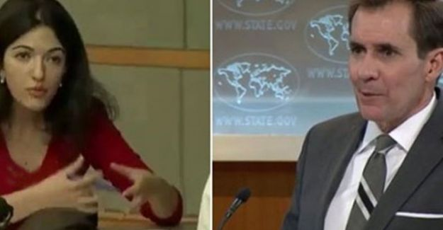 Rus Muhabirin Sorusu ABD Dışişleri Bakanlığı Sözcüsünü Çıldırttı!